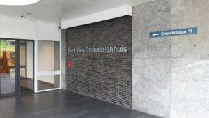 Solgu entree Piet van Dommelenhuis Utrecht