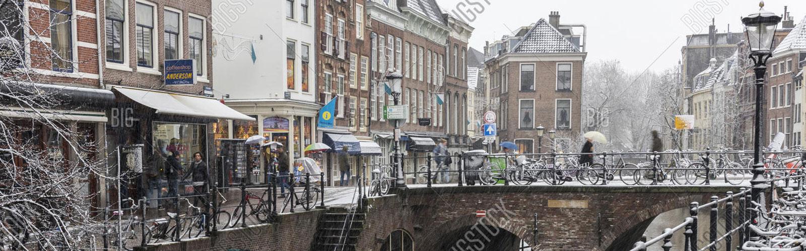Utrecht in de sneeuw