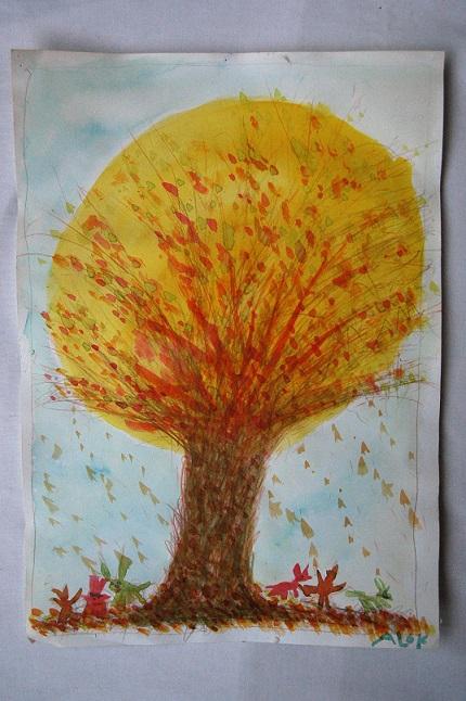 Schilderij Alok Blondé