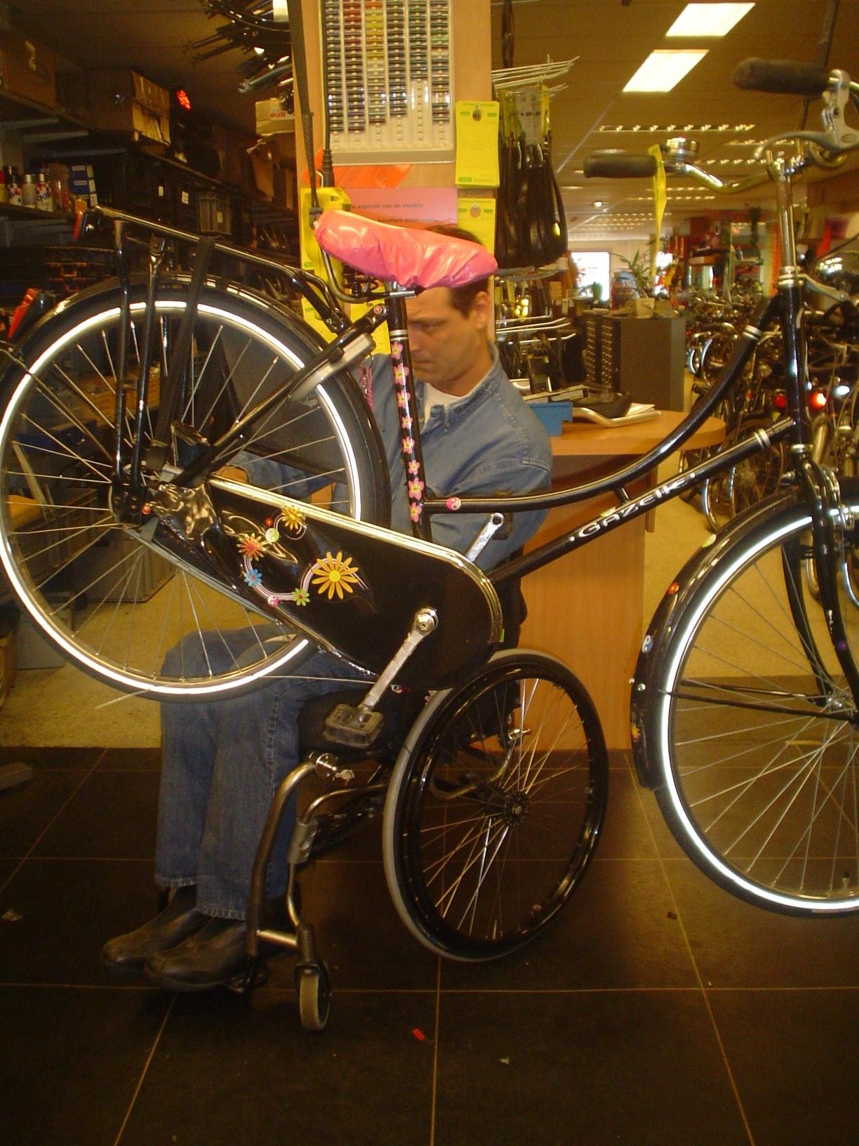 werk fietsenmaker
