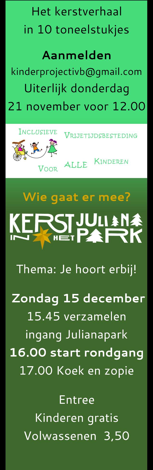 Kerst Julianapark IVB