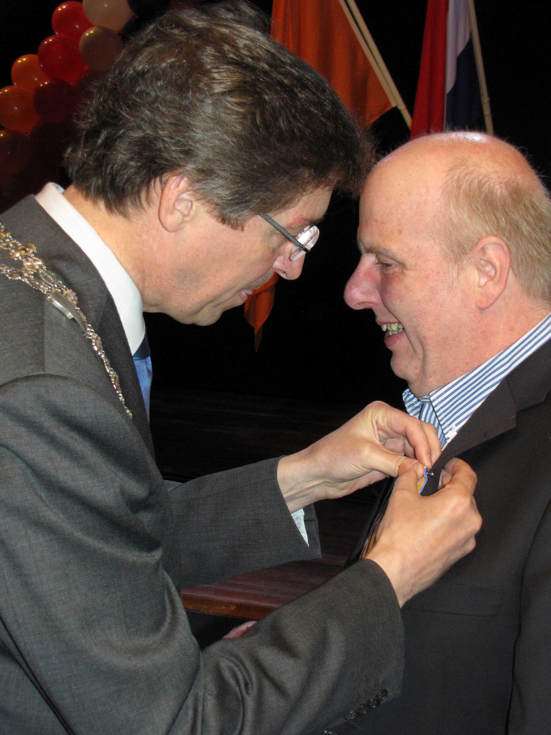 Peter Govaard met onderscheiding